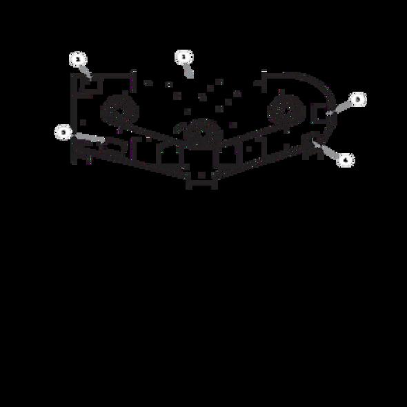 """Parts lookup for HUSTLER FASTRAK 933440EX - 60"""" Service Deck"""