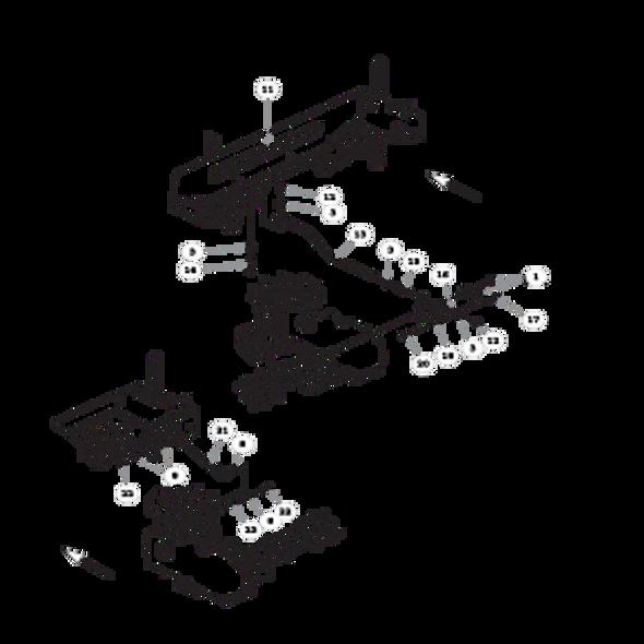 Parts lookup for HUSTLER FASTRAK 933432EX - Steering (1445)
