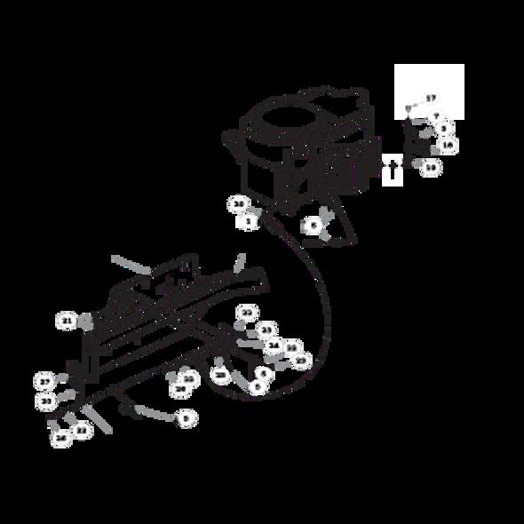 Parts lookup for HUSTLER FASTRAK 933432EX - Engine (1446)