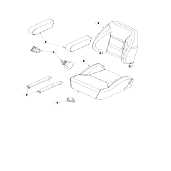 Parts lookup for HUSTLER FASTRAK SD 933481 - Seat Service Parts