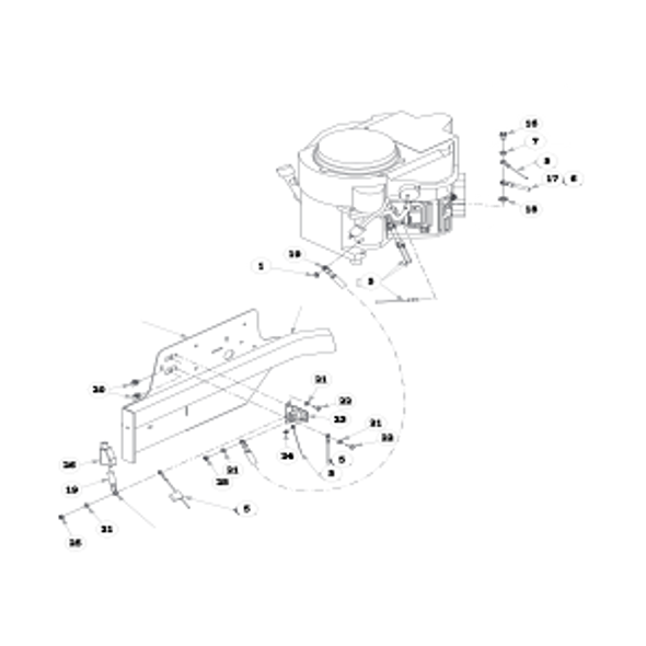Parts lookup for HUSTLER FASTRAK SD 933481 - Engine - Kawasaki FR (1492)