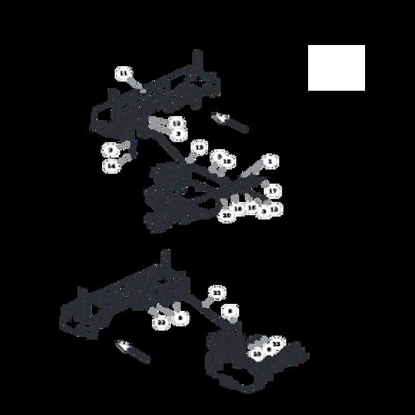 Parts lookup for HUSTLER FASTRAK SD 933499 - Steering (1500)