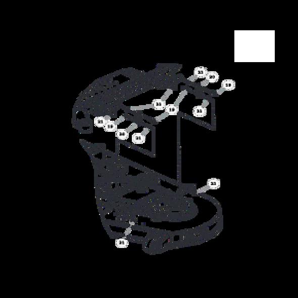 Parts lookup for HUSTLER FASTRAK SD 933499 - Deck Lift (1504)