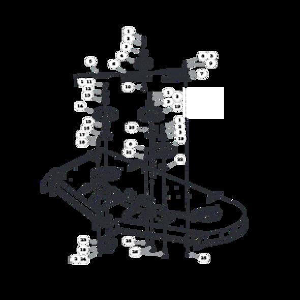 "Parts lookup for HUSTLER FASTRAK SD 933499EX - 60"" Deck Pulleys and Spindles"