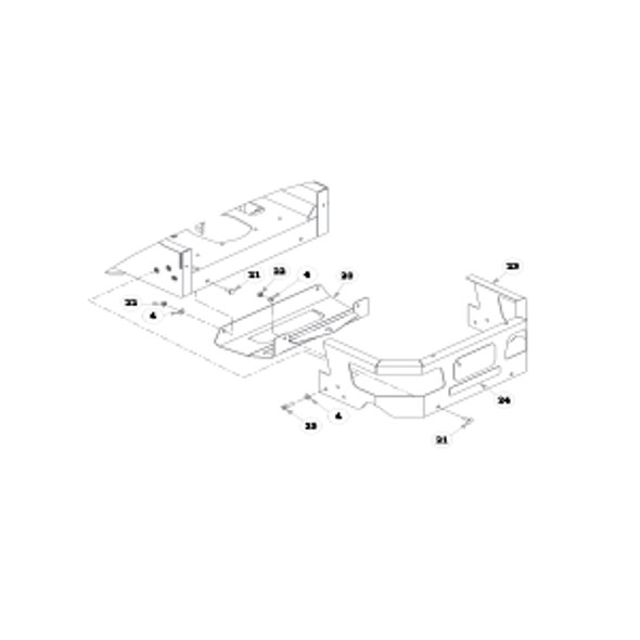 Parts lookup for HUSTLER FASTRAK SD 933507EX - Engine Guard and Hitch - S/N prior to 16020001