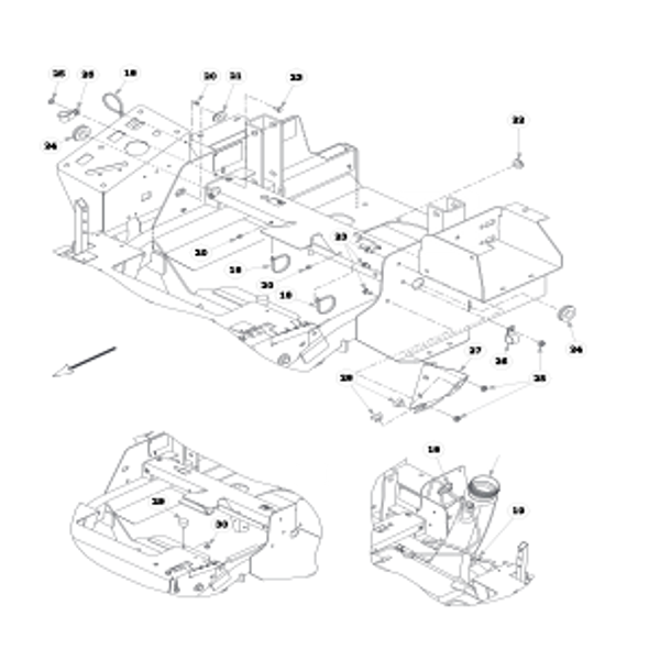 Parts lookup for HUSTLER FASTRAK SD 933499EX - Fuel System (1498)