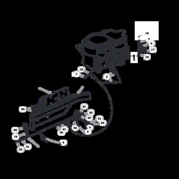 Parts lookup for HUSTLER FASTRAK SD 933507EX - Engine - Kawasaki FS (1506)
