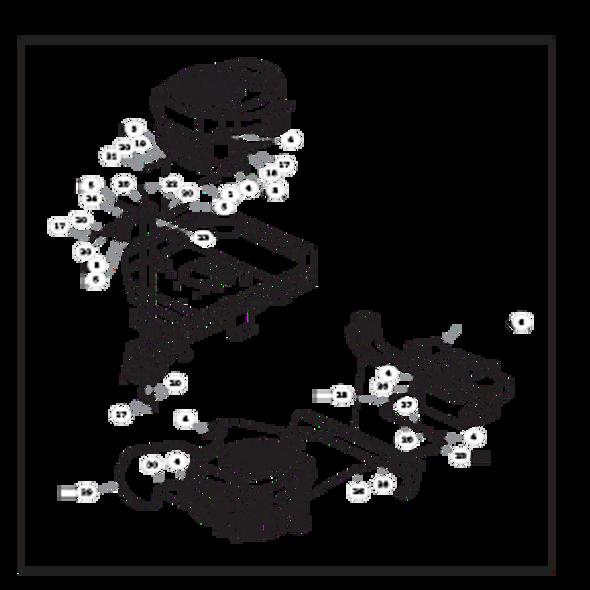 Parts lookup for HUSTLER RAPTOR FLIP-UP 933622 - Engine - with Carbon Canister (1562)