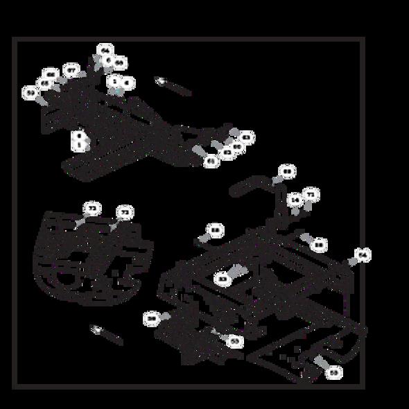 Parts lookup for HUSTLER RAPTOR FLIP-UP 935296EX - Steering and Brake - S/N 16042182 and higher (2194)