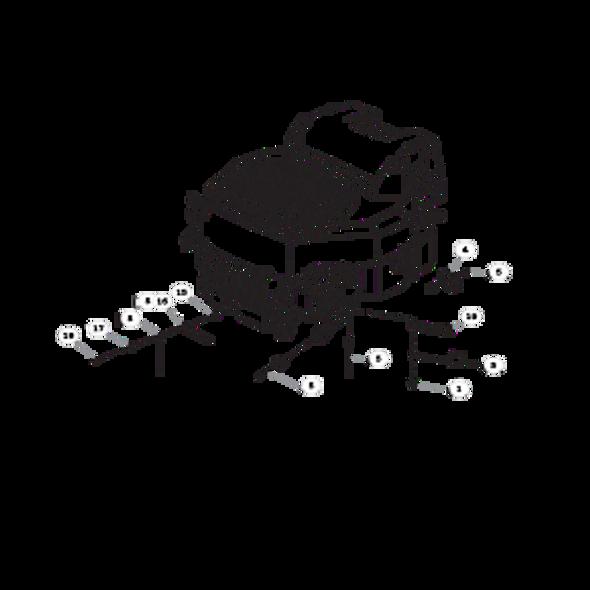 Parts lookup for HUSTLER FASTRAK SDX 933945 - Engine Kohler (1621)