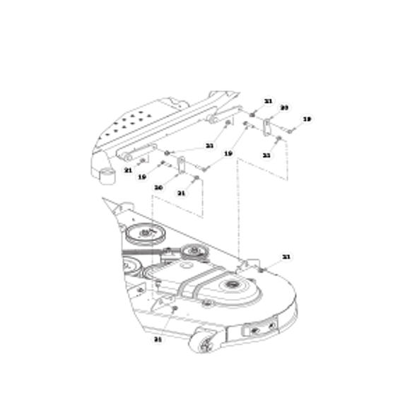 Parts lookup for HUSTLER FASTRAK SDX 933945 - Deck Lift (1624)