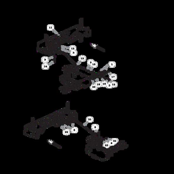 Parts lookup for HUSTLER FASTRAK SDX 933952 - Steering (1627)