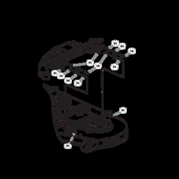Parts lookup for HUSTLER FASTRAK SDX 933952 - Deck Lift (1633)