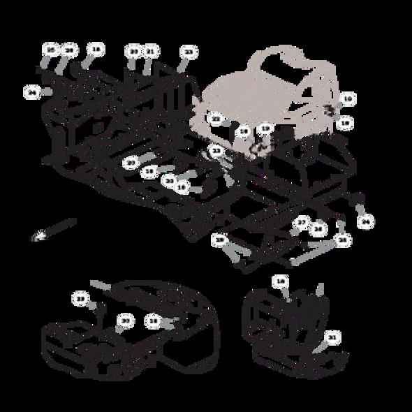 Parts lookup for HUSTLER FASTRAK SDX 934380US - Fuel System Kohler - without Carbon Canister (1923)