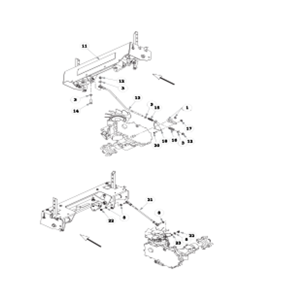 Parts lookup for HUSTLER FASTRAK SDX 934398US - Steering (1925)