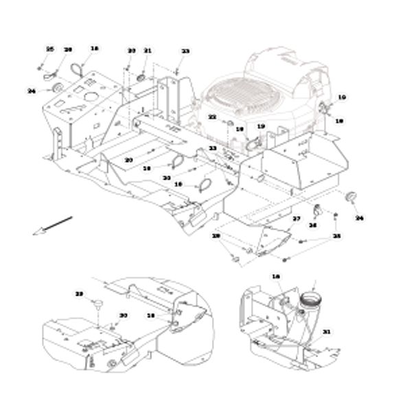 Parts lookup for HUSTLER FASTRAK SDX 936146US - Fuel System Kohler - without Carbon Canister (2377)