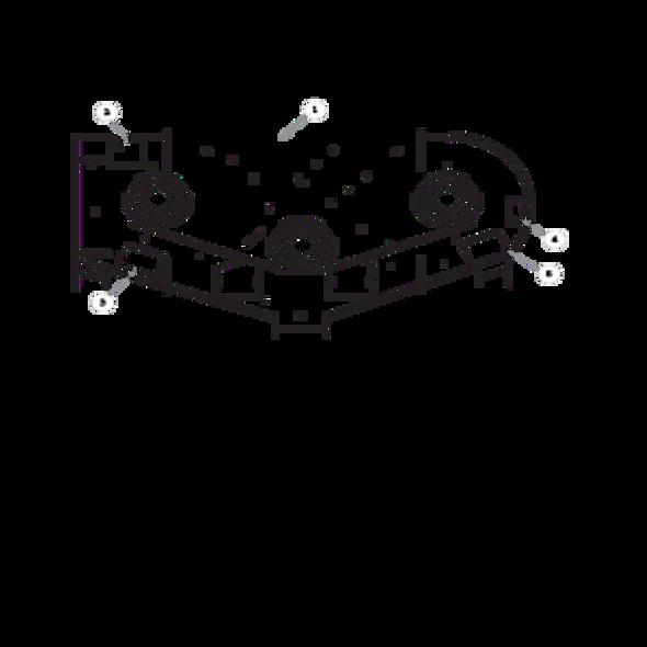 """Parts lookup for HUSTLER FASTRAK SDX 933952EX - 54"""" Service Deck"""