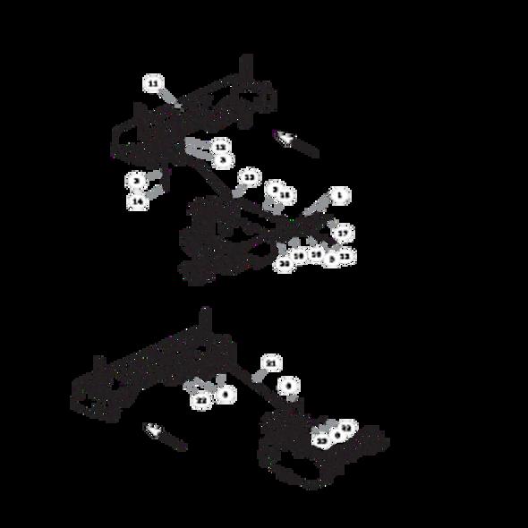 Parts lookup for HUSTLER FASTRAK SDX 933945EX - Steering (1616)