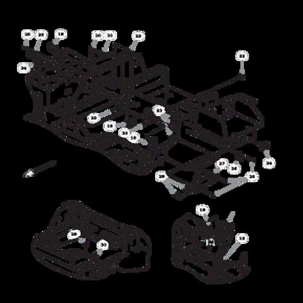 Parts lookup for HUSTLER FASTRAK SDX 933945EX - Fuel System (1617)