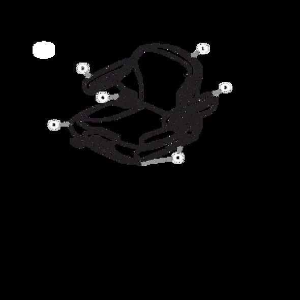 Parts lookup for HUSTLER SUPER Z 934992 - Seat Service Parts