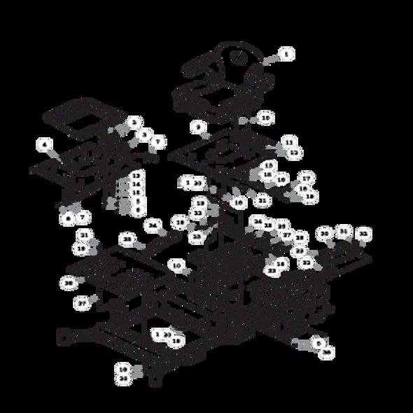 Parts lookup for HUSTLER SUPER Z 935023 - Seat