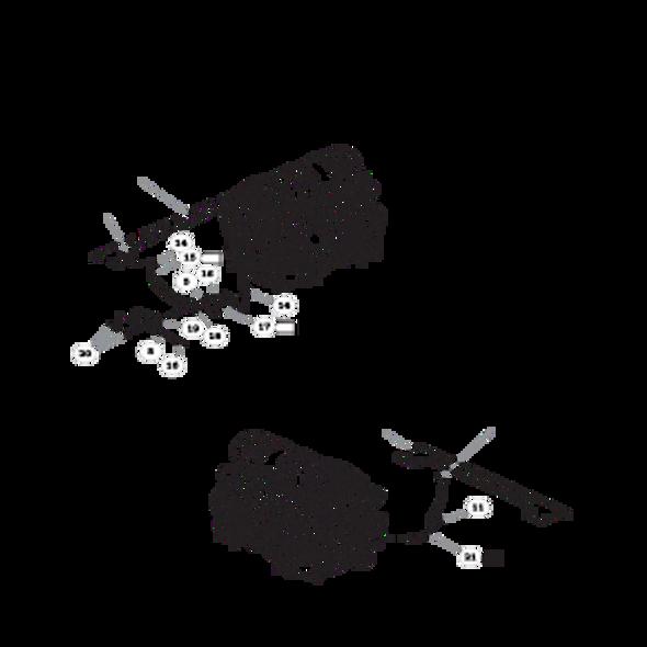 Parts lookup for HUSTLER SUPER Z 935007 - Engine Kohler (2110)