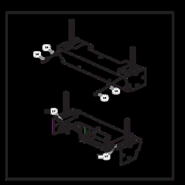 Parts lookup for HUSTLER SUPER Z 938118EX - Steering Cover Assembly (2840)