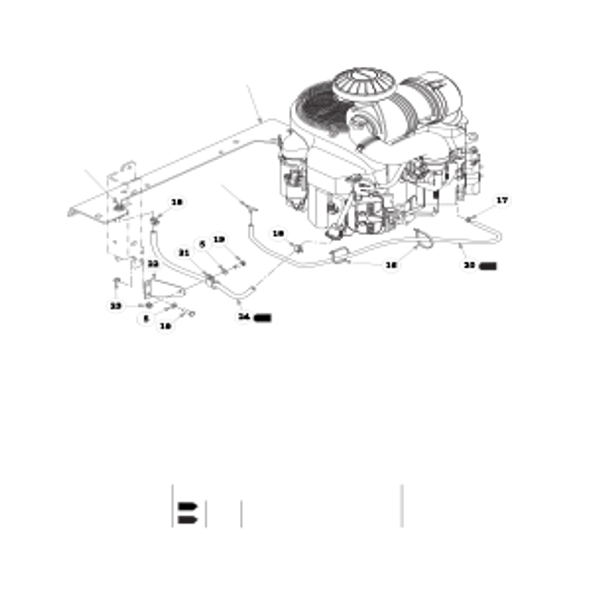 Parts lookup for HUSTLER SUPER Z 938118EX - Engine Kawasaki FX850V (2841)