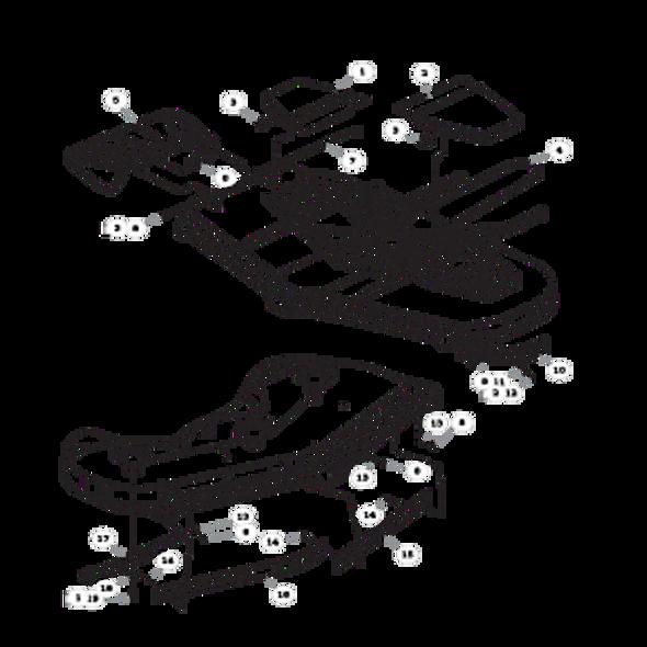 """Parts lookup for HUSTLER SUPER Z HD 935338EX - 72"""" Deck"""