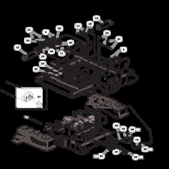 Parts lookup for HUSTLER X-ONE 936260 - Fuel System Kohler - with Carbon Canister (2438)