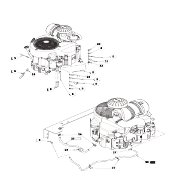 Parts lookup for HUSTLER X-ONE 936286 - Engine Kawasaki FX850V (2466)