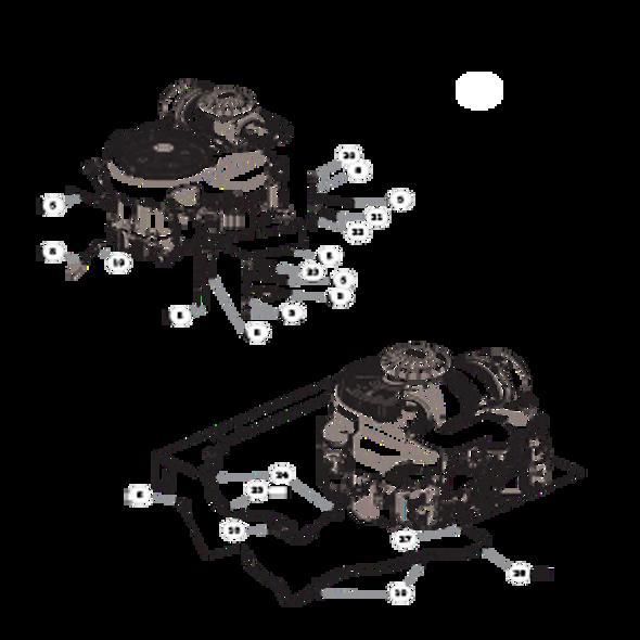 Parts lookup for HUSTLER X-ONE 936336 - Engine Kawasaki FX850V (2529)