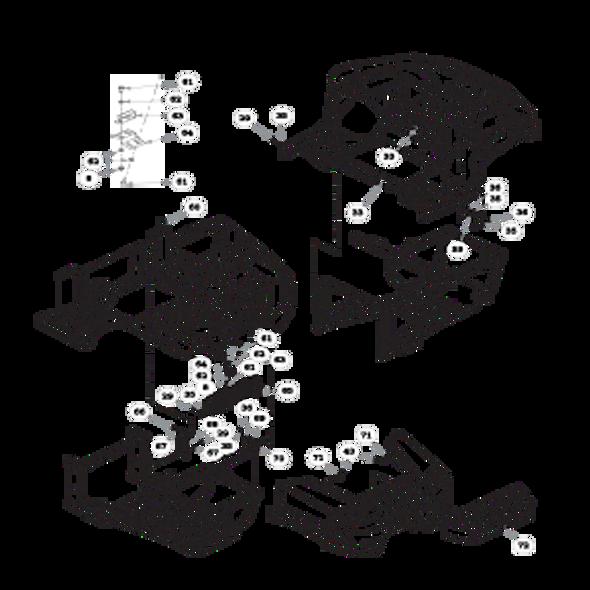 Parts lookup for HUSTLER MDV 934018 - Body Panels (1665)