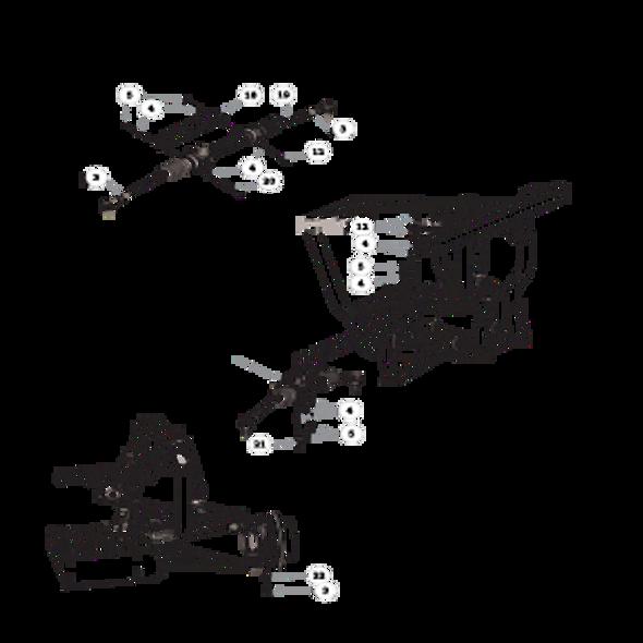 Parts lookup for HUSTLER MDV 934018 - Steering (1668)