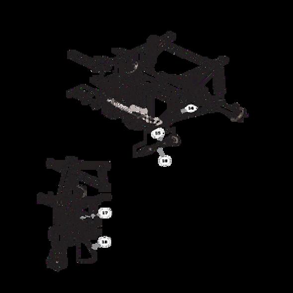 Parts lookup for HUSTLER MDV 934018 - Rear Drive (1673)