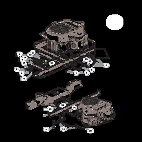 Parts lookup for HUSTLER RAPTOR 938167 - Engine Kawasaki FR691V (2857)