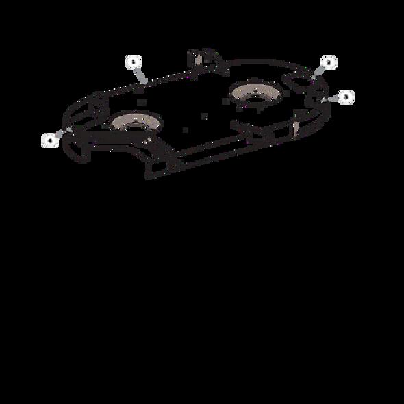 """Parts lookup for HUSTLER RAPTOR 938282EX - 42"""" Service Deck"""