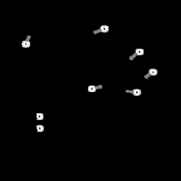 Parts lookup for HUSTLER MINI Z 927251 - Front Wheel Breakdown - 786061