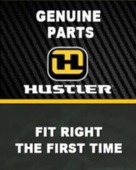 HUSTLER PULLEY DECK DRIVE B-SEC 604664 - Image 2