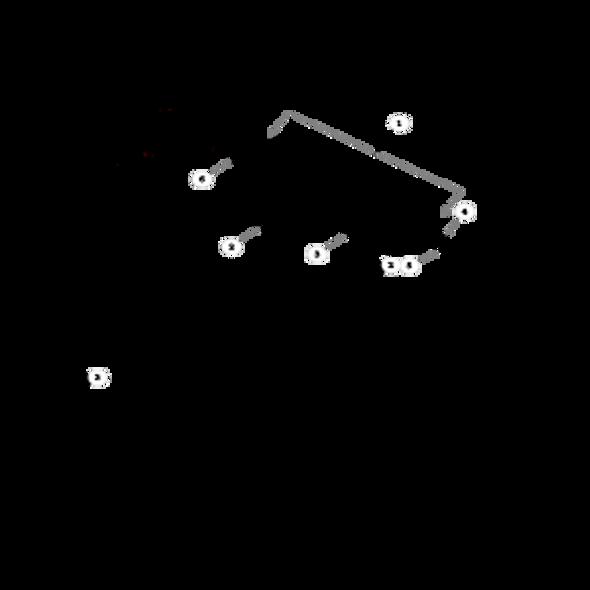 Parts lookup for HUSTLER FASTRAK 927376 - Drive Wheel Assembly
