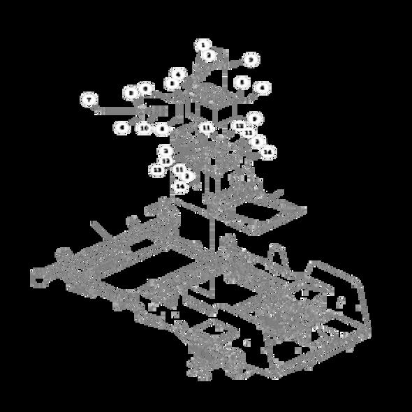 Parts lookup for HUSTLER FASTRAK 926519 - Battery Installation