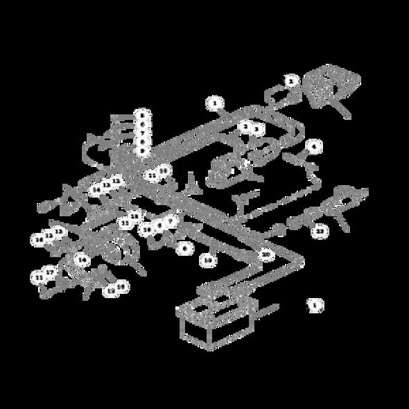 Parts lookup for HUSTLER 4000 925008 - Electrical System (Engine)
