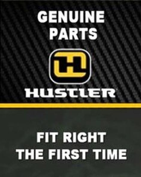 HUSTLER ENGINE GUARD BRACKET L 124649-1 - Image 1