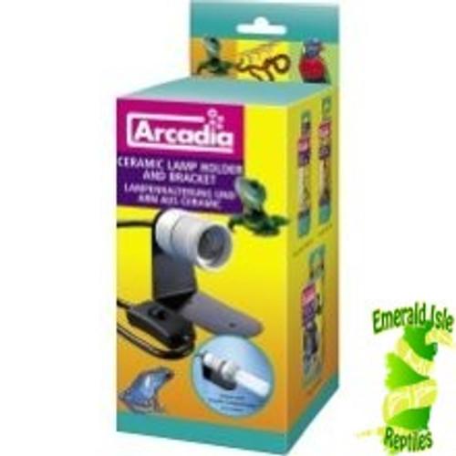 Arcadia Ceramic Lamp Holder & Bracket