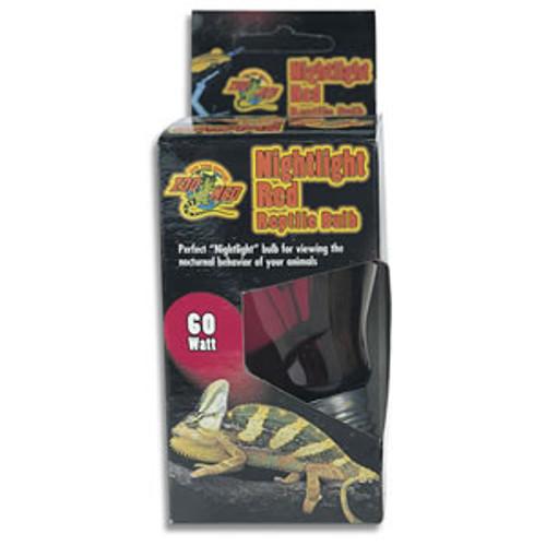 Zoo Med Nightlight Red Reptile Bulb 60w