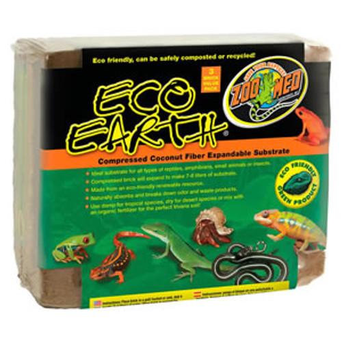 Zoo Med Eco Earth - 3 Block