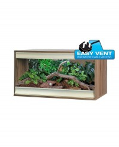 Vivexotic Viva+ Vivarium: Terrestrial Medium (3ft): Walnut