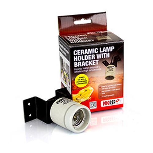 PR Ceramic Lamp Holder WITH Bracket