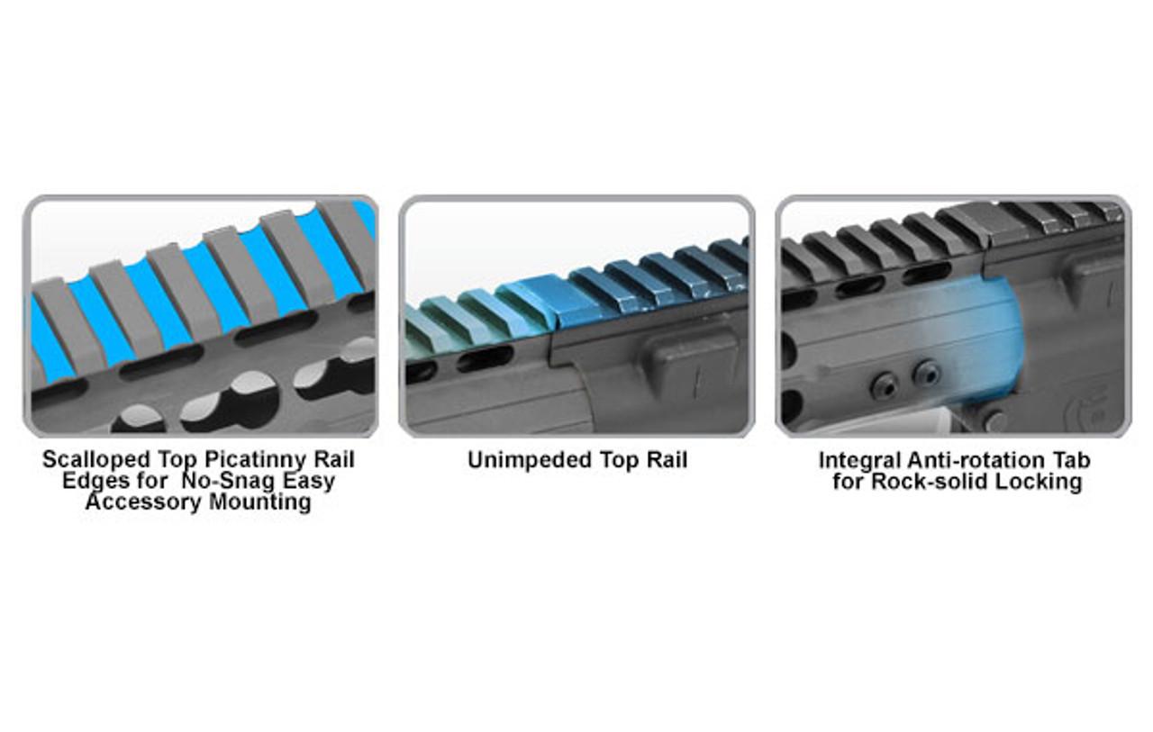 "UTG PRO AR15 7"" Super Slim Free Float Keymod Compatible Rail"