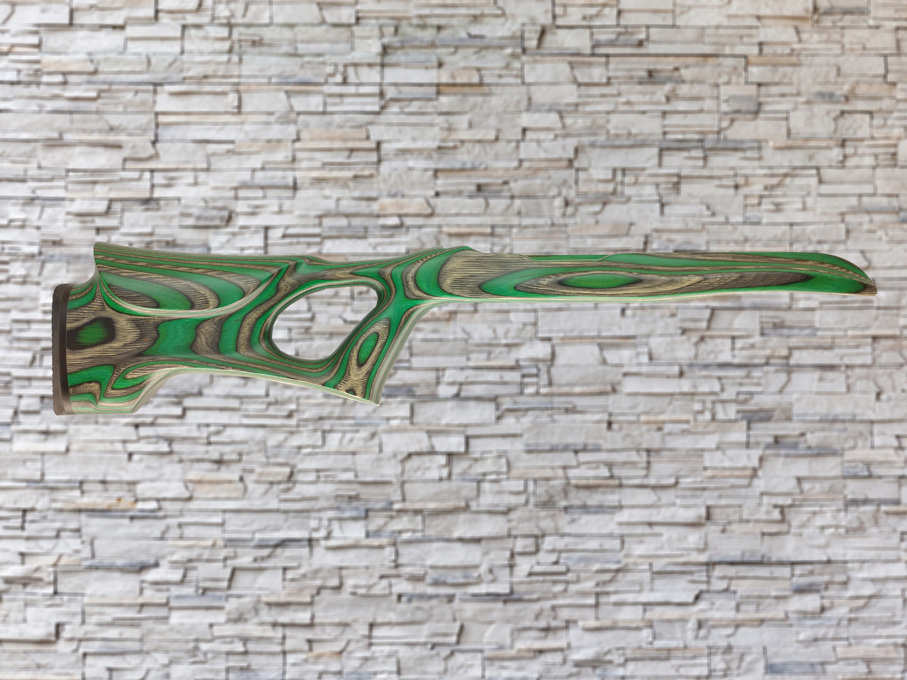 Revolution Talon Evergreen Bull Barrel Wood stock for Ruger 10/22, T/CR22